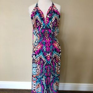 Alice and Trixie snake print maxi, size XS